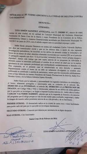 Concejal del MAS denuncia al fallecido padre de Carlos ... - photo#32