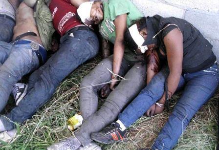 matanza en mexico