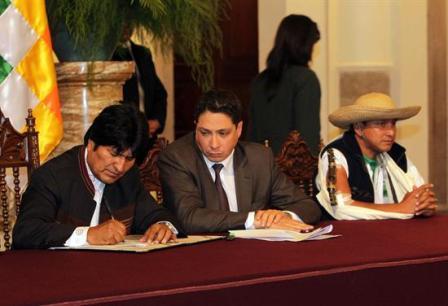 Morales-insta-a-indigenas-del-Beni-exigir-la-construccion-de-la-carretera-por-el-TIPNIS