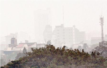 En-Santa-Cruz-se-respira-el-aire-mas-impuro-de-Bolivia,-segun-un-informe-oficial