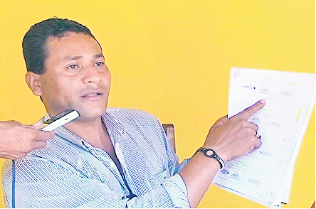 El-dirigente-civico-de-Pando,-Vicente-Rocha,-denuncia-que-el-Gobierno-de-Evo--quiere-cazarlo--.