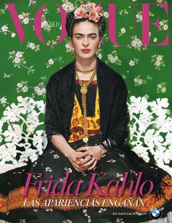 Frida-Kahlo-como-icono-de-la-moda-en-la-portada-de-Vogue-Mexico