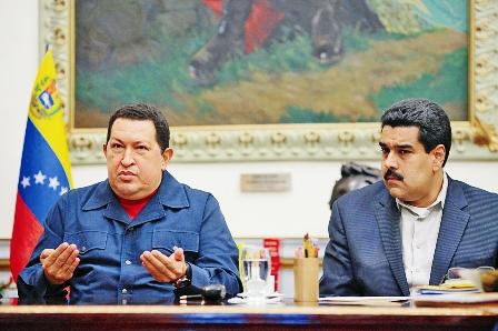 Nicolas-Maduro,-delfin-de-Hugo-Chavez-en-el-poder