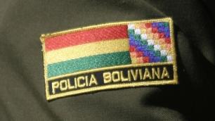 El comandante General de la Policía Boliviana, coronel Alberto