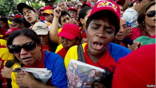 El-chavismo,-preocupado-pero-optimista-por-la-recaida-de-Chavez