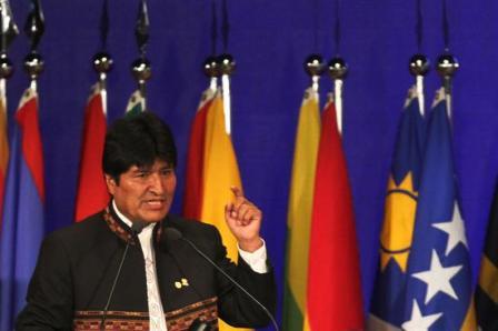 Evo-Morales:--La--Economia-verde--es-el-nuevo-colonialismo-de-paises-ricos-
