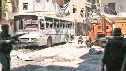 Intenso-bombardeo-en-Siria