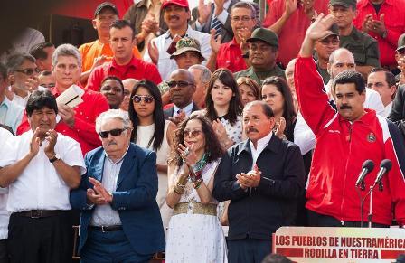 Presidentes-de-paises-socios-de-Venezuela-en-Caracas-en-apoyo-a-Chavez