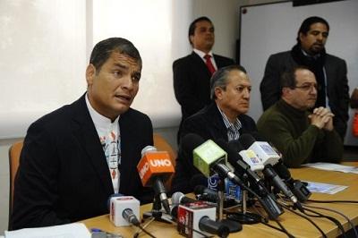 Ecuador:-Gobierno-promete-no-favorecer-a-candidato-Correa-en-espacio-de-tv