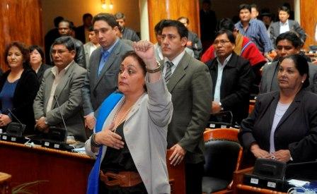 Betty-Tejada-toma-posesion-de-Diputados-en-medio-de-criticas-contra-la-oposicion