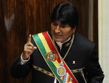 Morales-admite-baja-ejecucion-y-critica-estatizacion-de-Colquiri