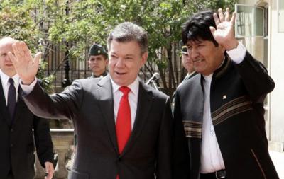 -Presidentes-de-Bolivia-y-Colombia-intercambiaron-criterios-sobre-las-FARC