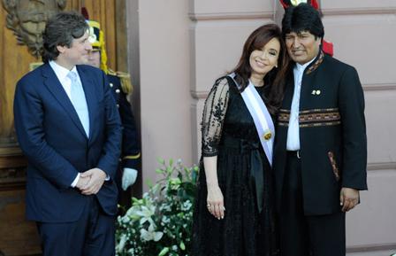 Evo-visitara-a-Cristina-en-Argentina-y-asistira-a-Cumbre-Iberoamericana-en-Panama