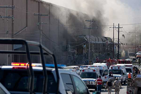 Explosion-en-fabrica-de-Ciudad-Juarez-deja-al-menos-40-heridos-y-20-desaparecidos