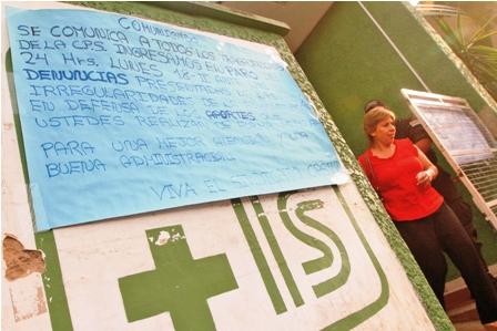 Medicos-y-trabajadores-de-la-Caja-Petrolera-estan-en-paro