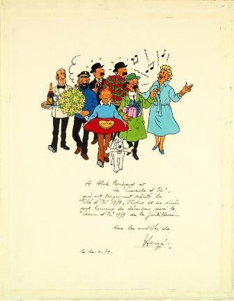 Originales-de-Asterix,-Tintin-y-Los-Pitufos-salen-a-subasta-en-Paris