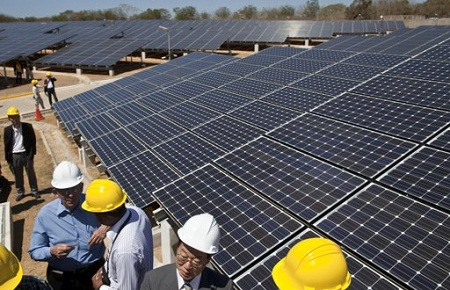 Nicaragua-inaugura-planta-de-energia-solar