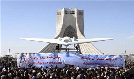 Iran-afirma-haber-capturado-un-avion-no-tripulado-del-enemigo-durante-unas-maniobras