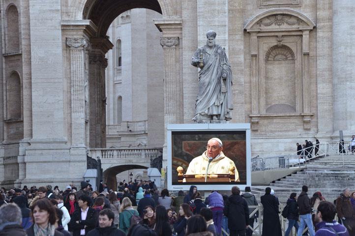 Papa-Francisco-celebra-la-primera-misa-de-su-pontificado