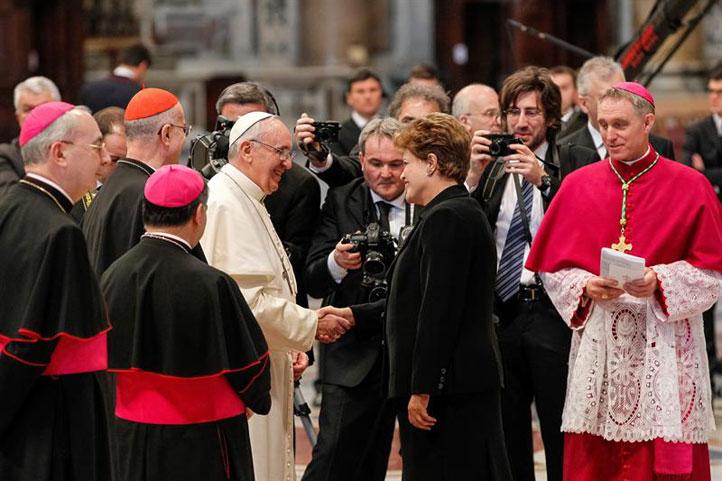 Rousseff-permanecera-en-Roma-para-una-audiencia-con-el-papa-Francisco-manana