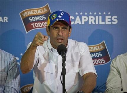 Capriles-dice-que-la-situacion-en-Venezuela-le-recuerda-a-la-de-Fujimori-en-Peru