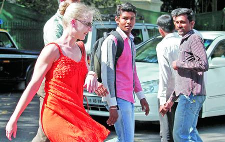 Violaciones sexuales en la india