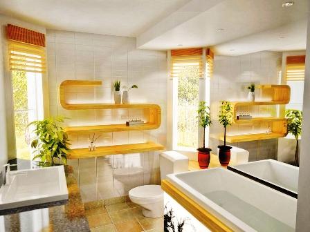 Plantas en el ba o calidez y naturalidad - Plantas en el bano ...