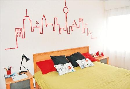 Ideas originales para decorar sus paredes for Paredes originales