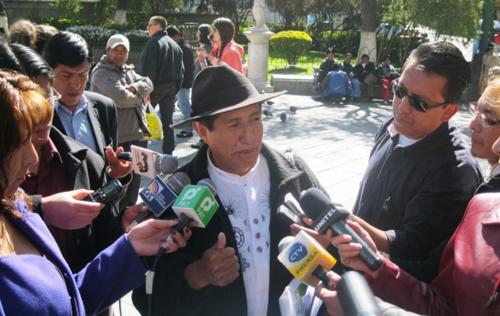 Quispe:-Ministro-Quintana-busca-poner-cortina-de-humo-para-no-explicar-ejecucion-del-programa-Evo-Cumple