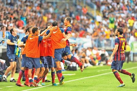 Barcelona-gana-apenas-sin-su-idolo-Lionel-Messi