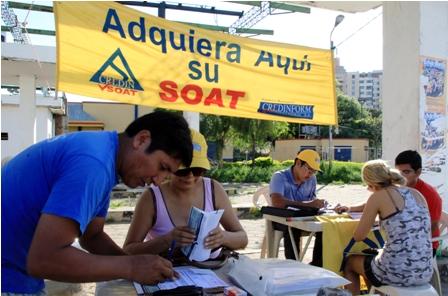 SOAT-sera-comercializado-por-cuatro-aseguradoras-en-2014