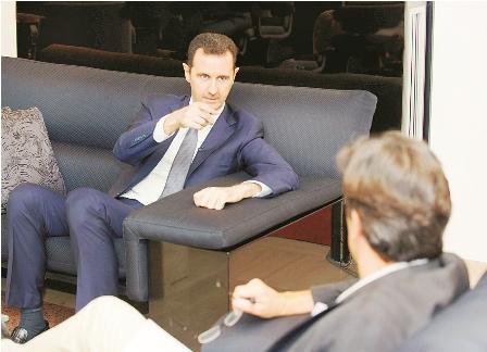 Bashar-Al-Assad-niega-uso-de-armas-quimicas-