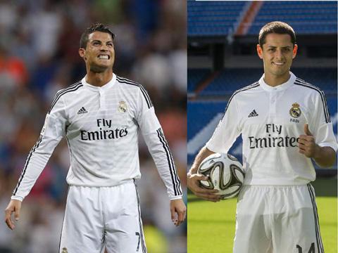 Cristiano-Ronaldo-y--Chicharito--Hernandez-los-delanteros-mas-efectivos-de-la-Liga-espanola-