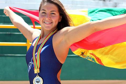 Boliviana-Ribera-participara-en-Mundial-de-Natacion-y-Juegos-Olimpicos-de-Rio-de-Janeiro