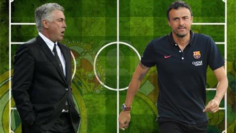 Previo-al-clasico,-Carlo-Ancelotti-y-Luis-Enrique-destacan-a-sus-planteles-