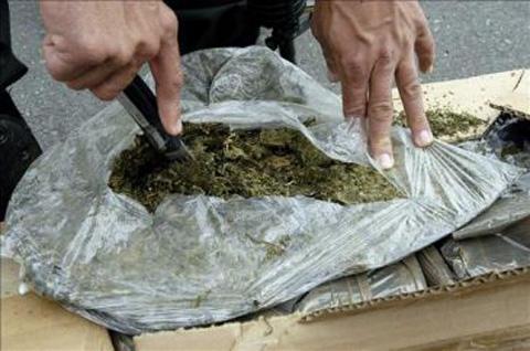 Policia-decomisa-234-kilos-de-marihuana-en-la-frontera-con-Paraguay