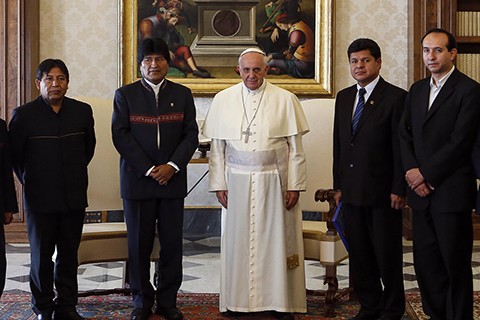 Choquehuanca-advierte-nerviosismo-en-Chile-por--futura-visita-del-Papa