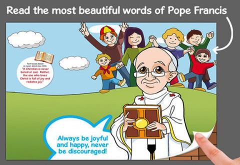 Apple-lanza-una-aplicacion-infantil-sobre-el-Papa-Francisco