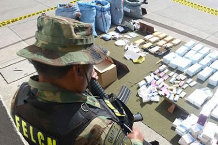 Policia-antidroga-decomisa-25,4-kilos-de-cocaina-en-6-operativos