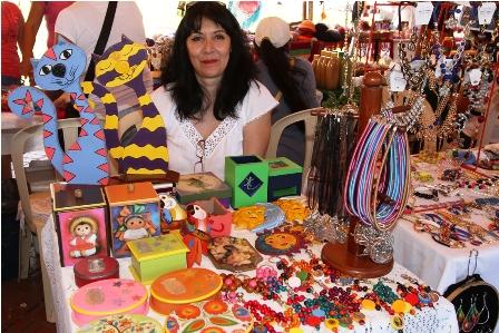 Mujeres-expusieron-artesanias-el-fin-de-semana-