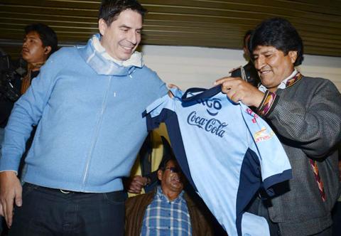 Morales-desafia-al-Papa-Francisco-y-asegura-que-Bolivar-ganara-a-San-Lorenzo
