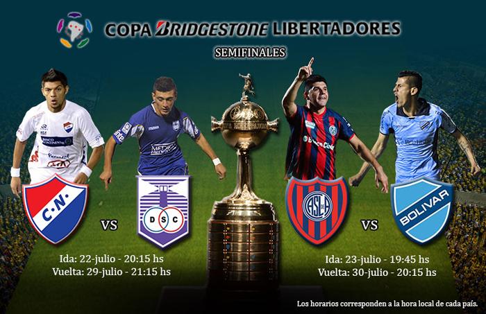 La-CONMEBOL-fijo-los-horarios-para-los-partidos-entre-Bolivar-y-San-Lorenzo