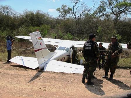 Secuestran-mas-de-114-kilos-de-cocaina-lanzados-desde-una-avioneta