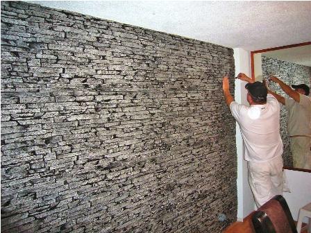 Fachaletas para decorar o renovar su pared - Lajas para paredes interiores ...