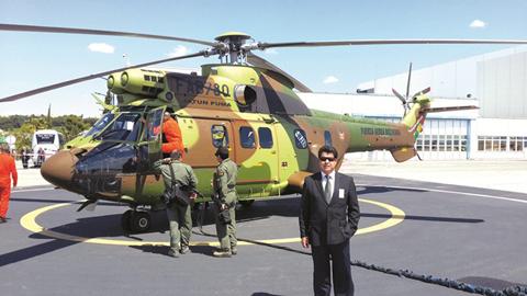 Entregan-a-la-FAB-el-primer-helicoptero-militar-Super-Puma