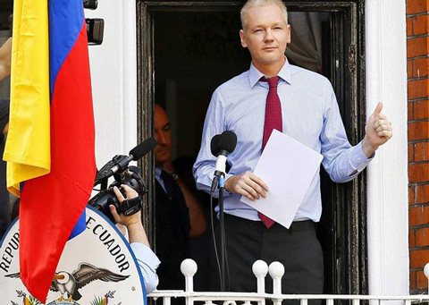 """Assange:-""""pronto-abandonare--la-embajada-de-Ecuador-en-Londres"""