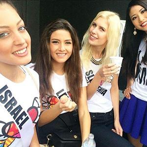 -Polemica-entre-Miss-Israel-y-Miss-Libano-por-un-«selfie»-