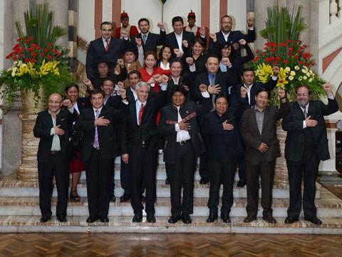 En-nueve-anos,-Evo-Morales-tuvo-94-ministros-en-su-gabinete
