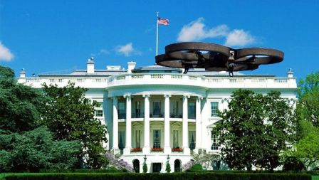 hallan-un-dron-en-la-Casa-blanca