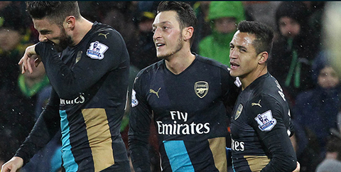 Arsenal-empata-ante-Norwich-y-pierde-a-Alexis-por-lesion